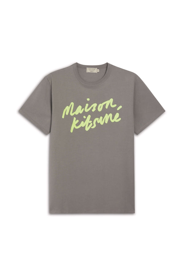 M Dark Grey Handwriting Tshirt