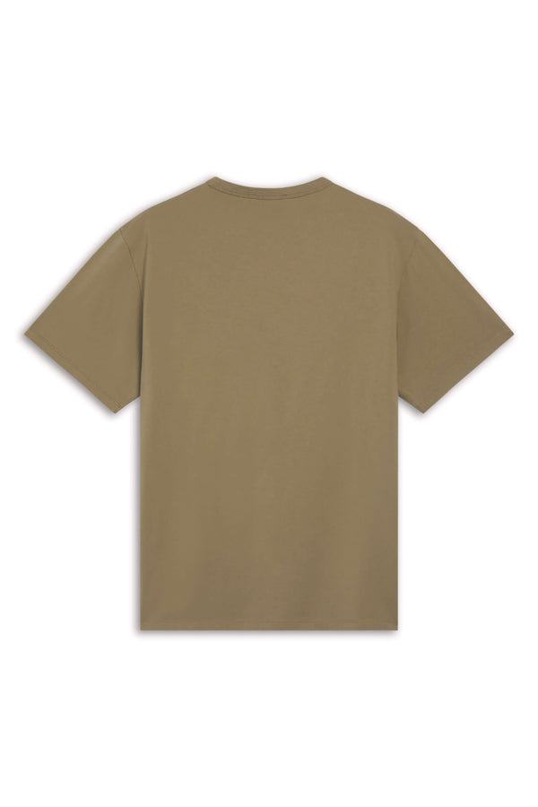 M Light Khaki Tricolour Fox Tshirt