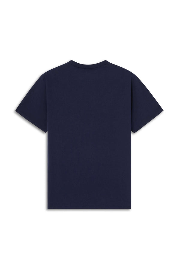 M Navy Tricolour Fox Tshirt