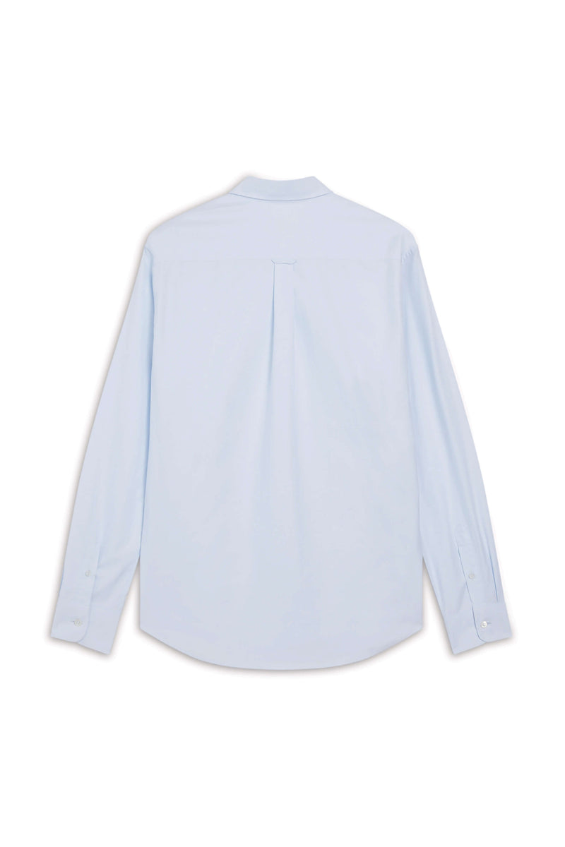 Light Blue Tricolour Fox Oxford Shirt