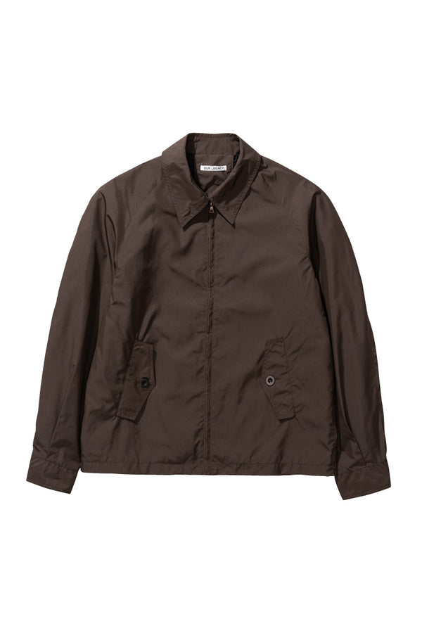 Cigar Brown Shortfin Blouson