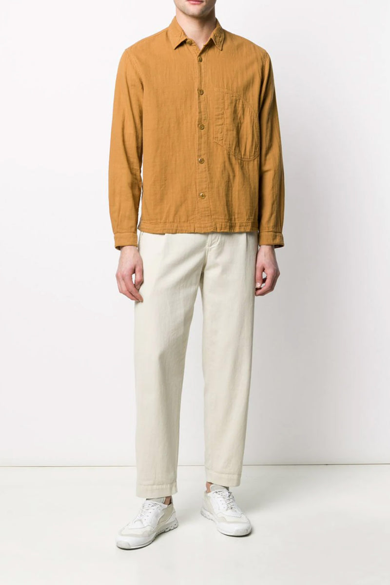 Brown Dpocket Shirt