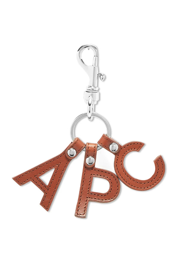 Brown APC Letters Keyring