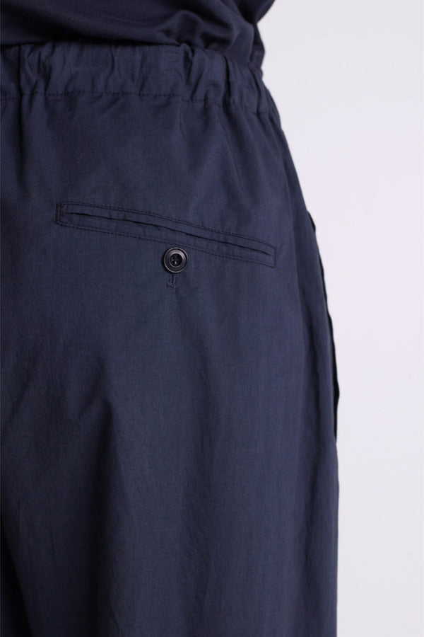 Carbon Pleated Drawstring Pants