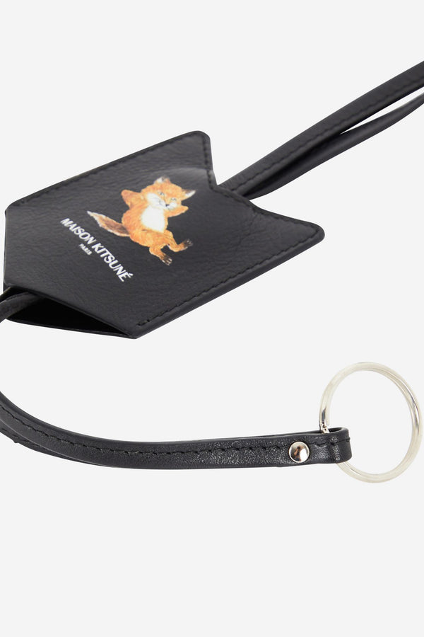 Black Chillax Fox Keyholder