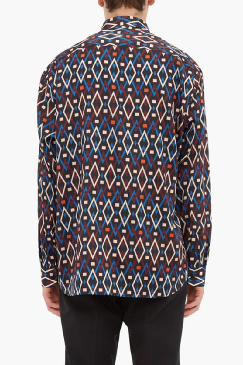 Martin Diamond Print Shirt