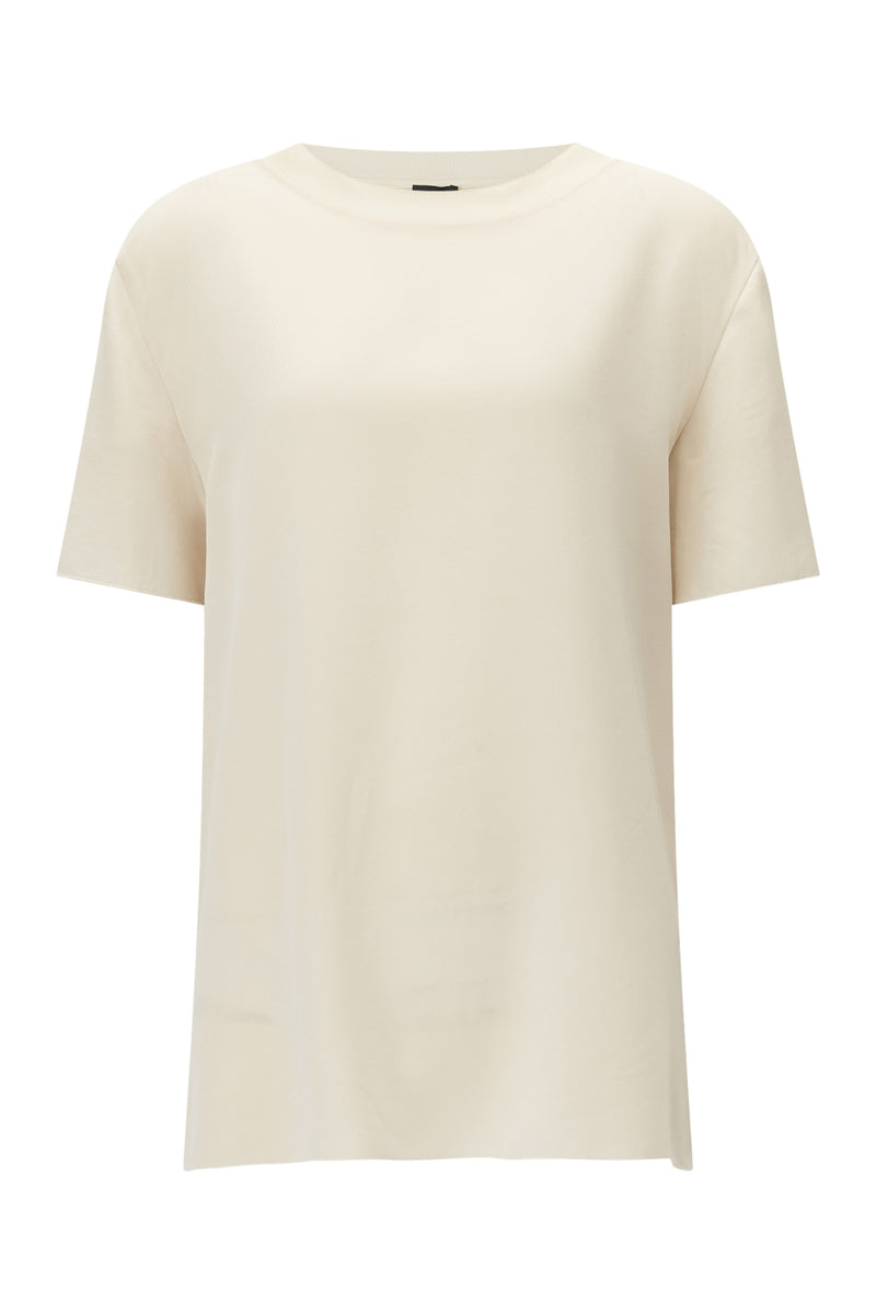 Rose Rubin Crepe Top