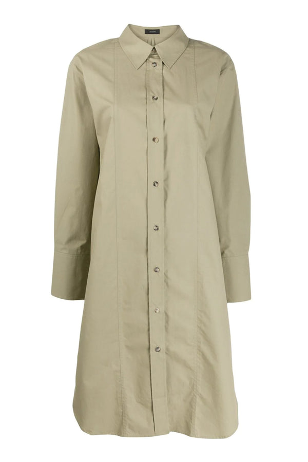 Sage Axton Shirt Dress