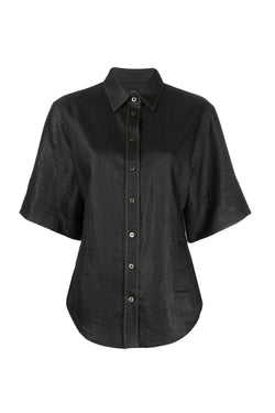 Black Starr Chintz Shirt