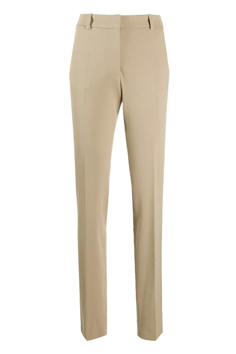 Khaki Cole Wool Trousers