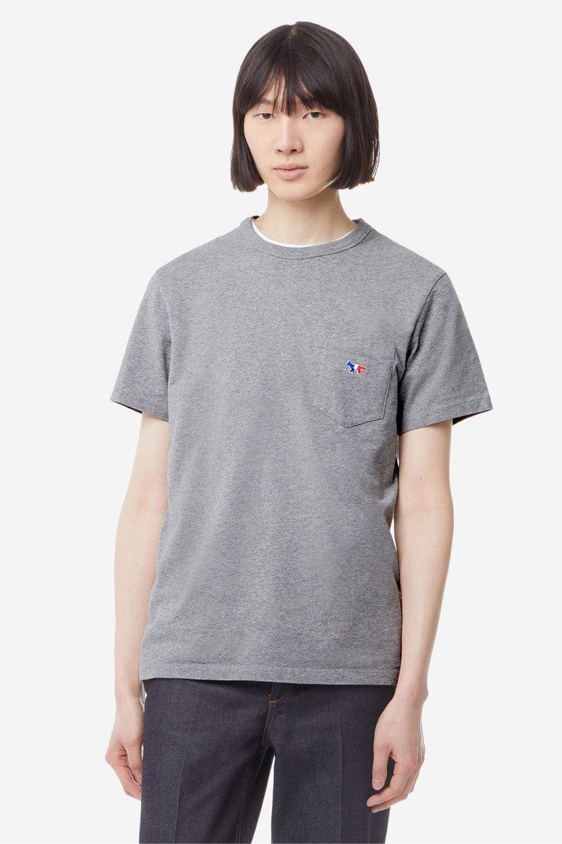 Grey Tricolour Fox Tshirt