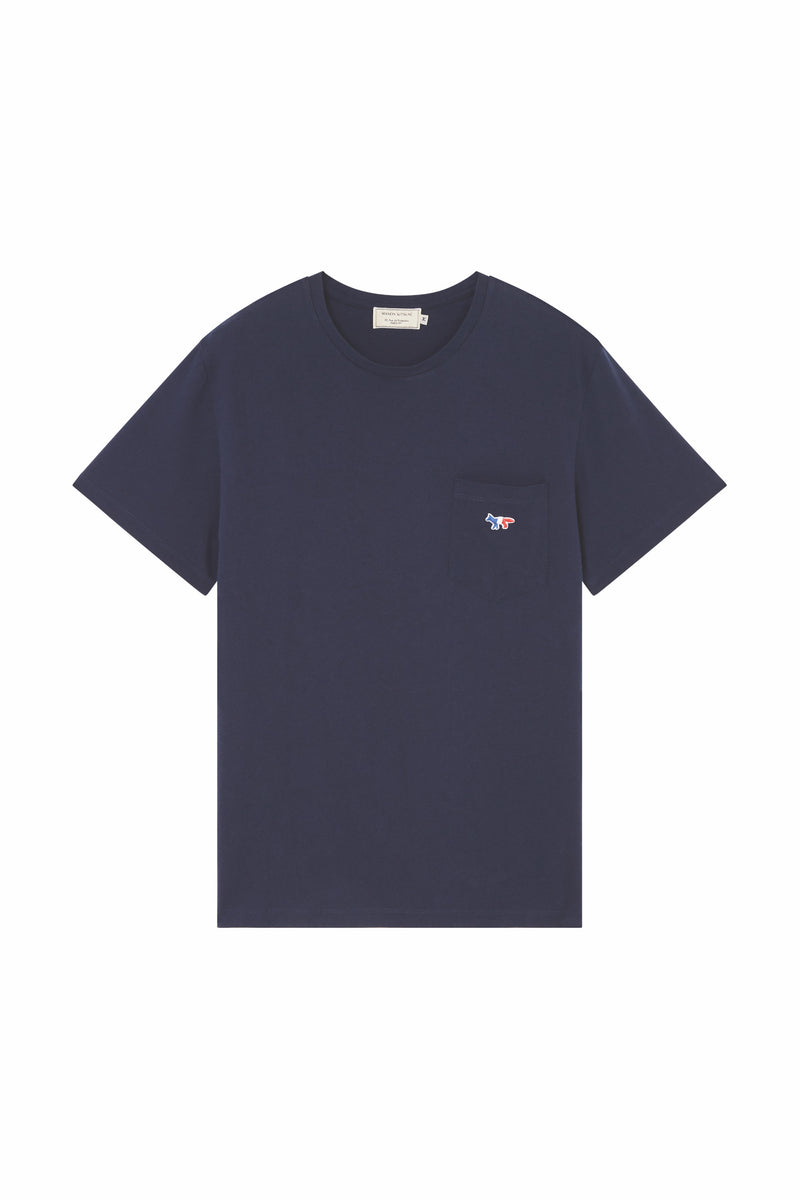Navy Tricolour Fox Tshirt