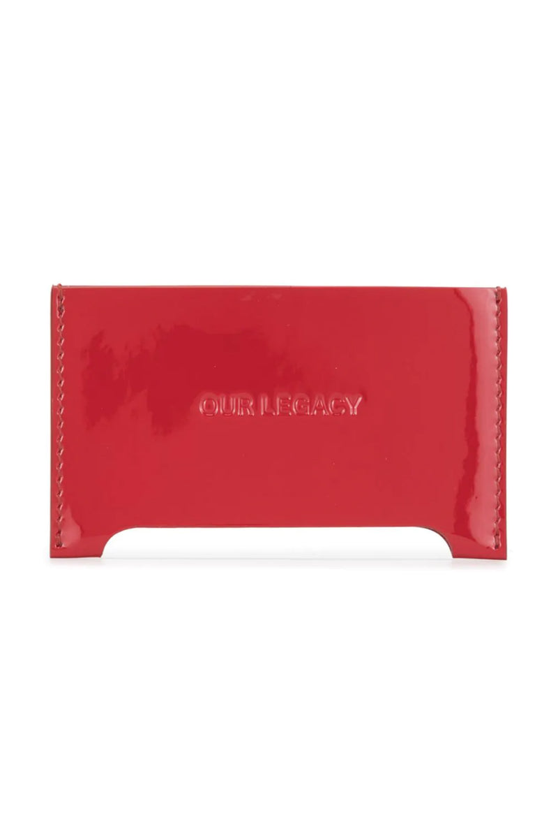 Red Distortion Cardholder