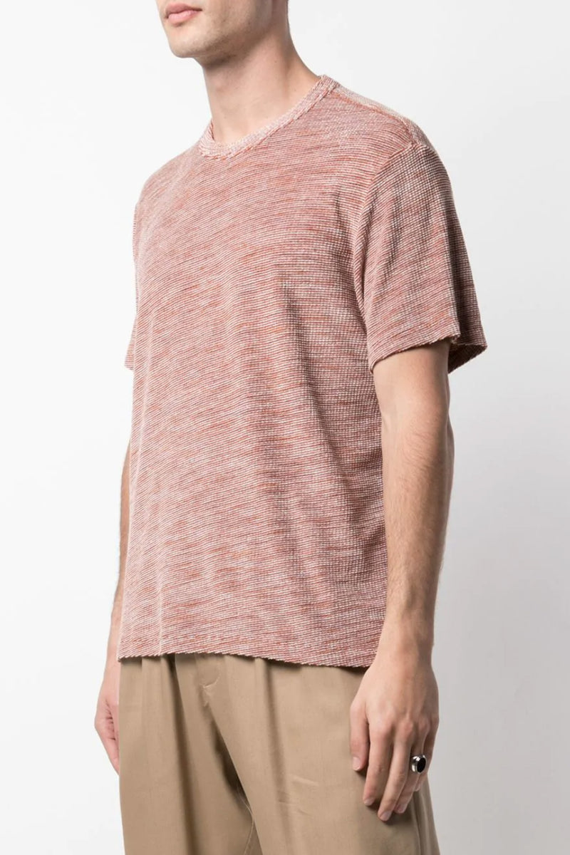 Brown Stripe Box Tshirt