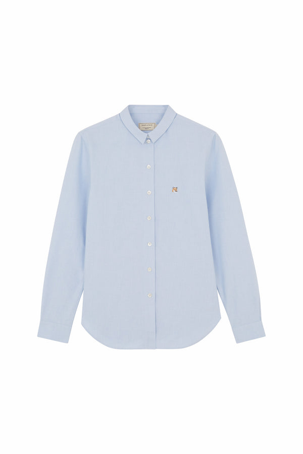 W LBLue Fox head Oxford Shirt