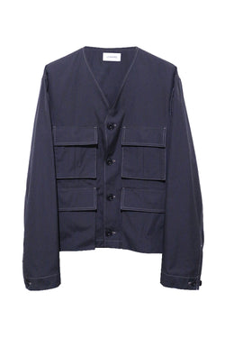 Carbon Vneck Jacket