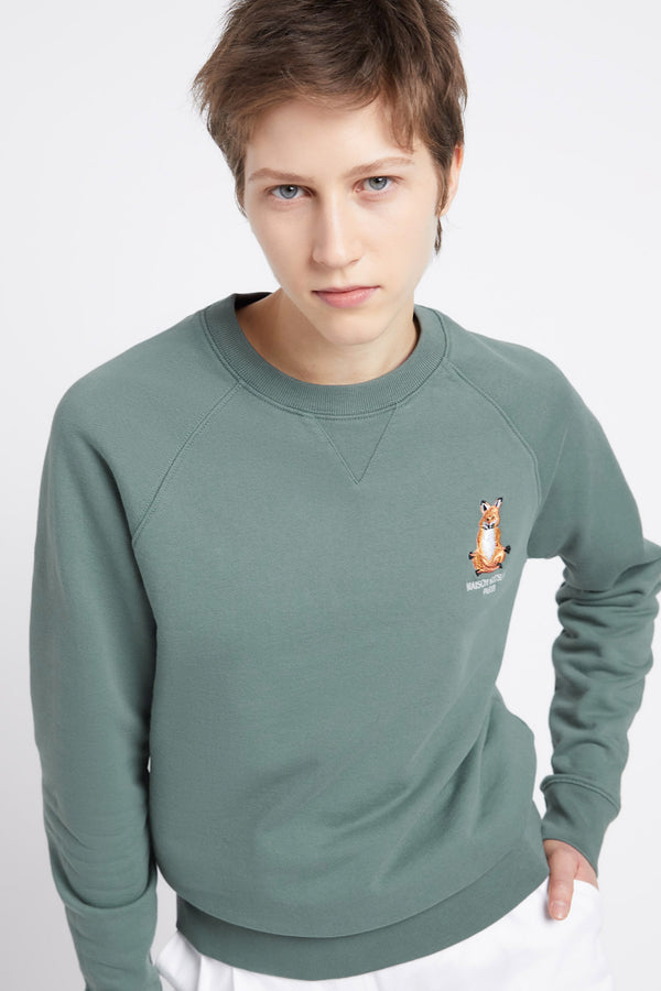 Blue/Green Lotus Fox Sweatshirt