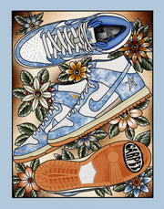 Carpet Company Dunk High Print