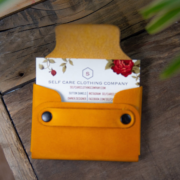 Self Care Card Holder Wallet