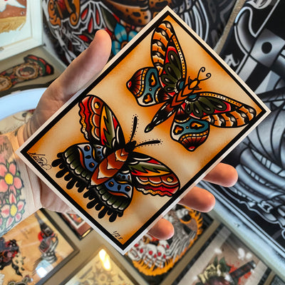 Moth/Butterfly Prints