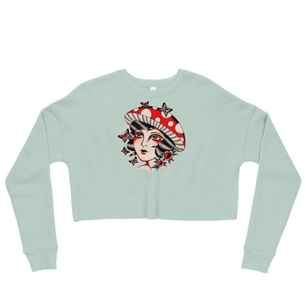Heather B. Fungirl Crop Sweater