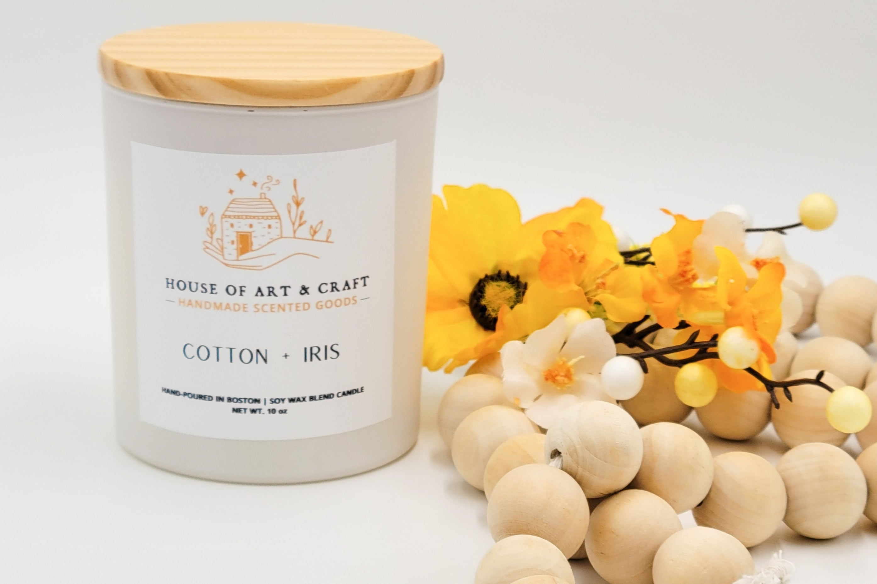 Cotton & Iris | Candle