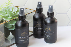 OakMoss + Sandalwood Air &  Linen Room Spray | The Barber's Collection