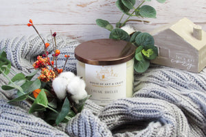 Creme Brulee | 3 Wick 17oz Candle | Holiday Limited Edition