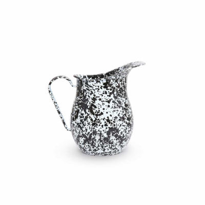 Black Marble Pitcher