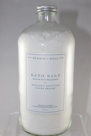 Washed Cotton Bath Salt