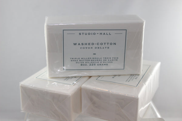 Washed Cotton Bar Soap