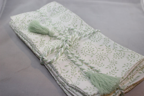 Sage Napkins/Set 4