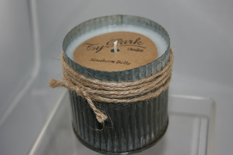 Galvanized Ribbed Tin-Southern Belle