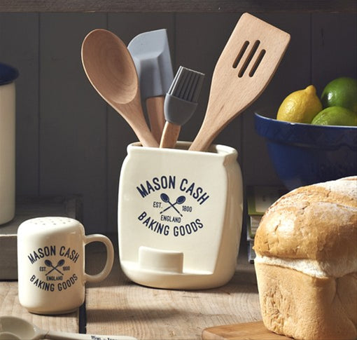Varsity Utensil Pot & Tablet Holder