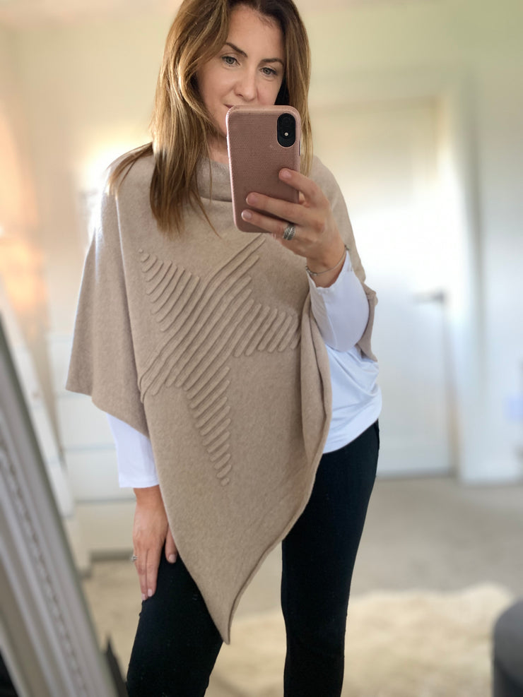 Star Cape, Beige