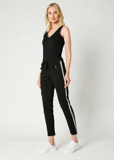 Deck Silver Stripe Trousers
