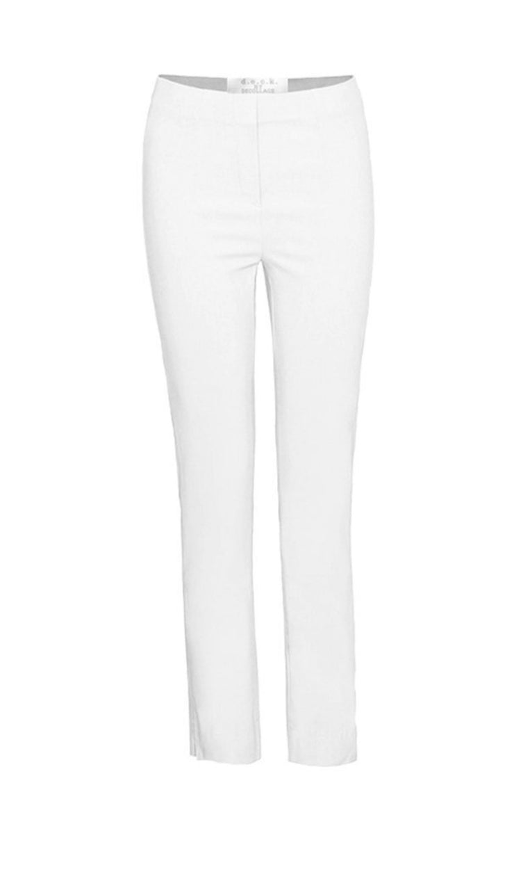 Deck Secret Slimmer Trousers , White
