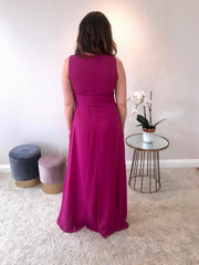 Castings Maxi Dress With Side Spilts