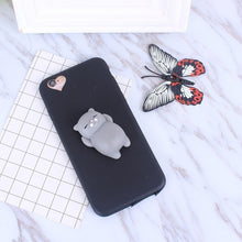 Load image into Gallery viewer, Squishy Cat Soft Phone Case for iPhone