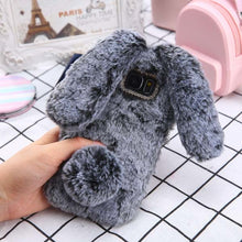 Load image into Gallery viewer, Squishy furry cute case for iPhone