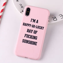 Load image into Gallery viewer, Social Media Harms Your Mental Health Quote Funny Soft Silicone Case For iPhone