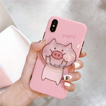 Load image into Gallery viewer, Squishy liquid pig - Cute cartoon for iPhone