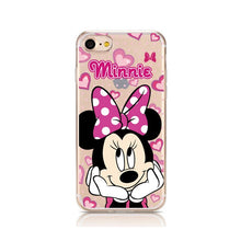 Load image into Gallery viewer, Cartoon Silicone Phone Case For iPhone