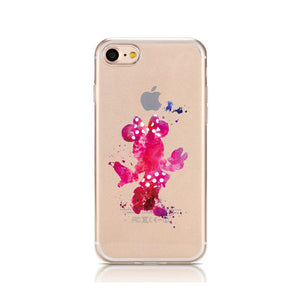 Cartoon Silicone Phone Case For iPhone (02)