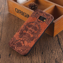 Load image into Gallery viewer, Wooden Bamboo Case For samsung galaxy