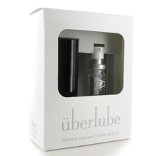 Load image into Gallery viewer, UBERLUBE - Silicone Lubricant Travelsize by [product.vendor] - Vegan [product.type] - Bold Humans