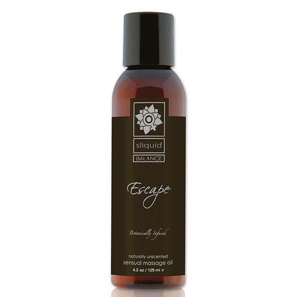 ESCAPE - Unscented Massage Oil 125ml by [product.vendor] - Vegan [product.type] - Bold Humans