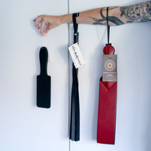 Load image into Gallery viewer, Faux Leather Flogger by [product.vendor] - Vegan [product.type] - Bold Humans
