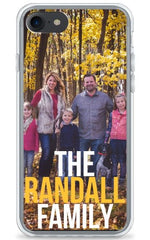Family Photo Personalized Phone Case