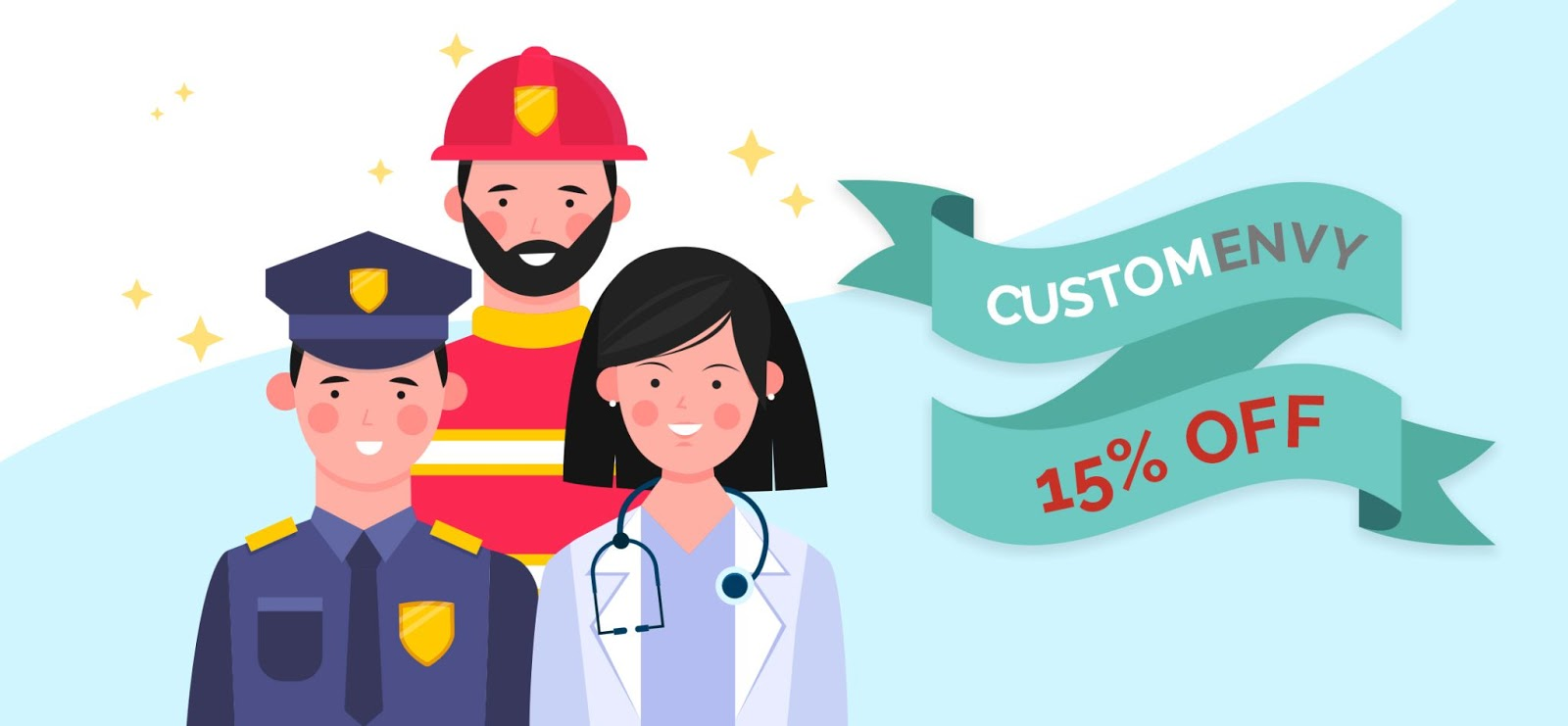 First Responders Exclusive 15% Discount!!!